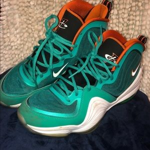 Nike Air Penny Miami Dolphins